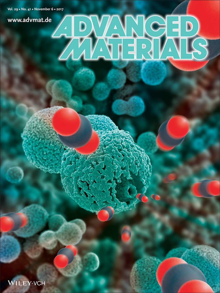 We Are On Advanced Materials Cover Page Laboratory Of